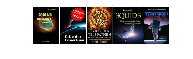Tolle Fantasy / Sci-Fi eBooks zum kleinen Preis (Teil 1)