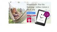 Tolino Vision 2 im Angebot bei eBook.de für 109 Euro