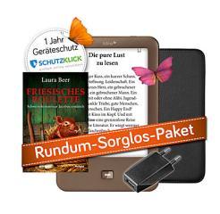 Tolino shine Spar Bundle mit Tasche, eBook, Geräteschutzversicherung und USB Stecker