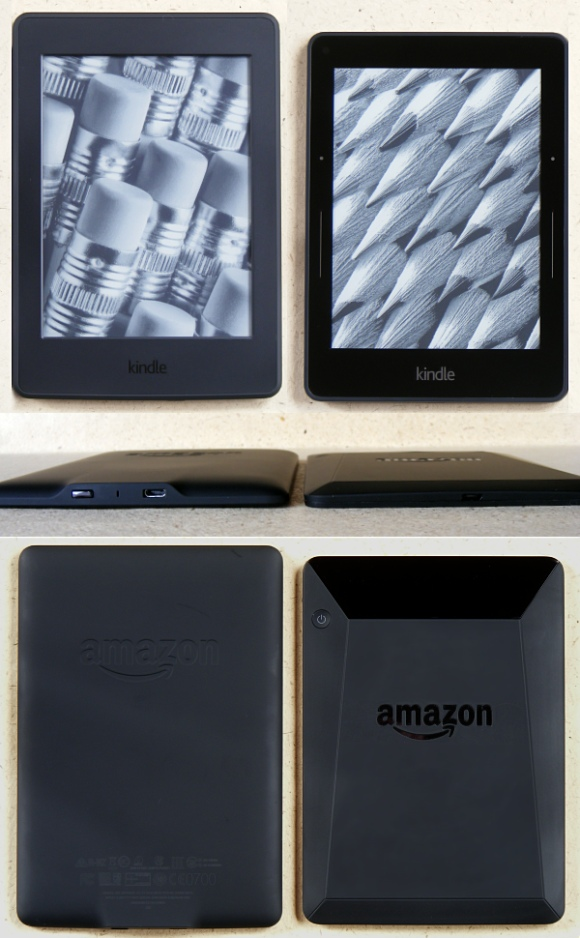 Kindle Paperwhite 3 / Kindle Voyage Vergleich
