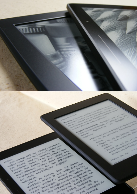 Vergleich Kindle Paperwhite 3 / KIndle Voyage