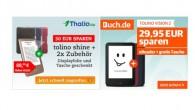 Bundle Angebot: Tolino shine plus Gratis Tasche und Display - Schutzfolie und Tolino Vision 2 Bundle mit Gratis Tasche