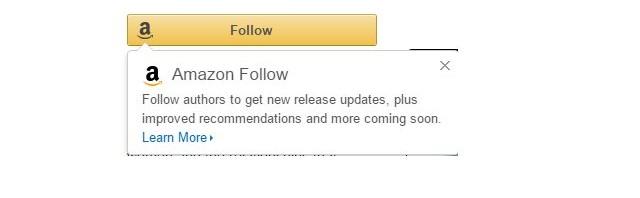 Amazon Follow: Immer aktuell, wenn es um den Lieblingsautor geht