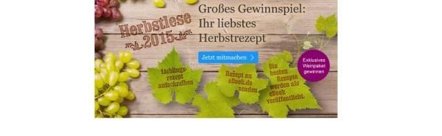 eBook.de sucht Herbstrezepte für ein Rezept eBook