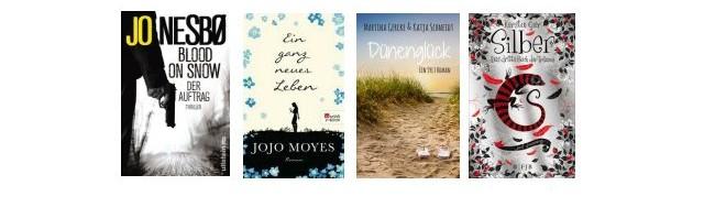 eBook Charts KW 41/2015 Jojo Moyes erobert die Spitze