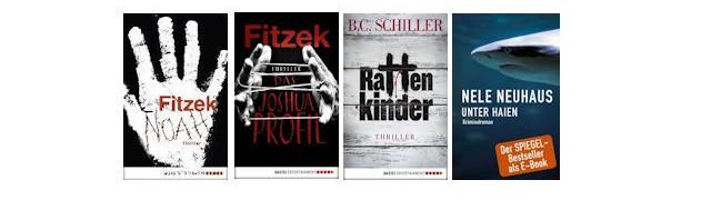 eBook Bestseller Charts KW 44/2015: Top neu dabei – Das Joshua-Profil von Sebastian Fitzek