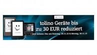 Cyber Monday bei Thalia und Buch.de: Tolino Tab und Tolino Reader deutlich reduziert