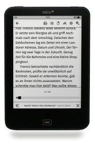 tolino eBook Leseeinstellungen