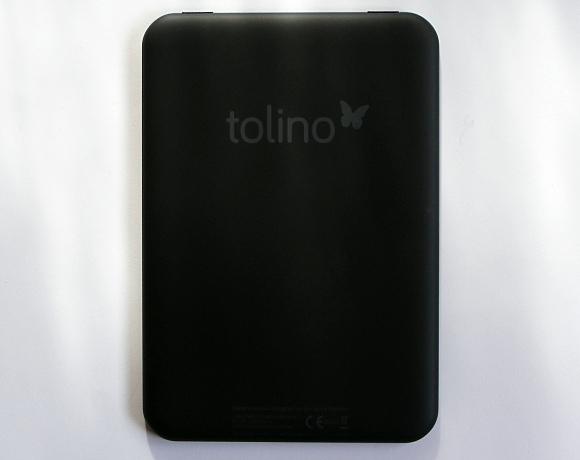 tolino shine 2 HD Rückseite