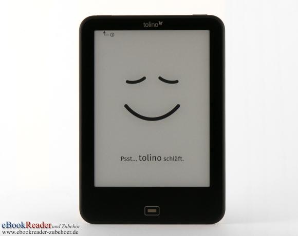 tolino vision 3 - Frontseite mit Home-Taste