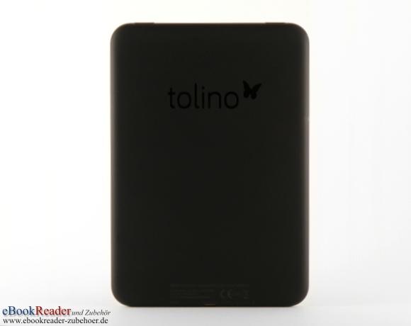 tolino vision 3 HD Rückseite