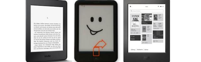 Welchen eBook Reader kaufen? Die Mittelklasse mit Kobo Glo HD, tolino shine 2 HD und Kindle Paperwhite