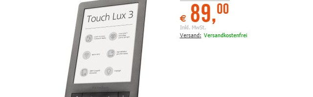 PocketBook Touch Lux 3 im Angebot