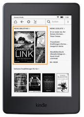 Kindle Software Version 5.7.2 mit personalisierter Startseite
