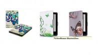 Tolino Vision 3 HD Flip Hülle mit Schmetterlingen