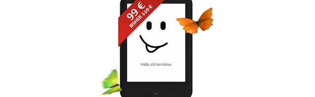 Tolino shine 2 HD Angebot für 99 Euro