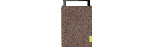 Sleeve Tasche für tolino vision 4 HD aus echtem Wollfilz