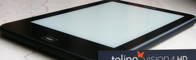 Die richtige Tasche / Hülle für den tolino vision 4 HD / 3 HD