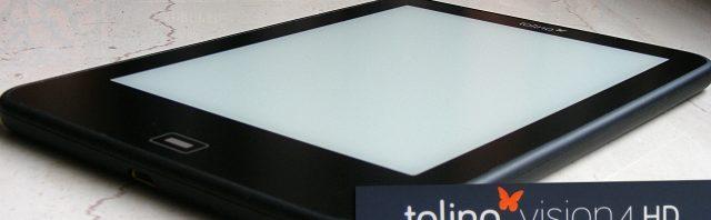 Tolino Vision 4 HD inklusive 40 Euro Geschenkkarte (Deal)