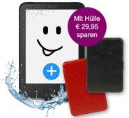 tolino vision 3 HD im Bundle mit einer Slim-Tasche bei eBook.de