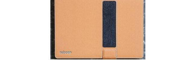 Reboon booncover Tasche mit Klett- und Falttechnik für eBook Reader