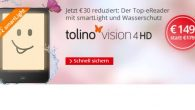 tolino vision 4 HD mit smartLight bei Hugendubel