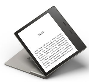 Kindle Oasis 2017 mit Audible Support und Wasserschutz nach IPX8