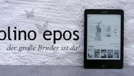 tolino epos - XXL eBook Reader mit 7.8""