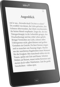"tolino epos: 7.8"" eBook Reader mit smartLight"