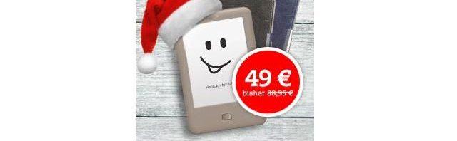 Tolino page + Gratis Tasche für nur 49 Euro