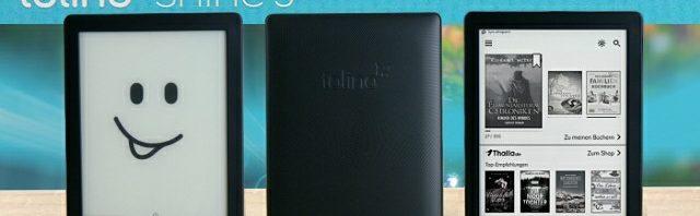 Neuer eReader tolino shine 3: smarter, kompakter, leichter und mit smartLight