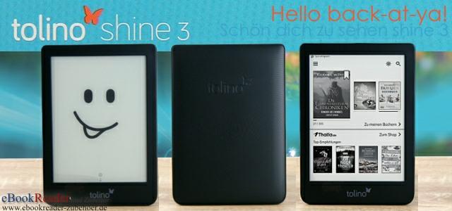 tolino shine 3 mit smartLight