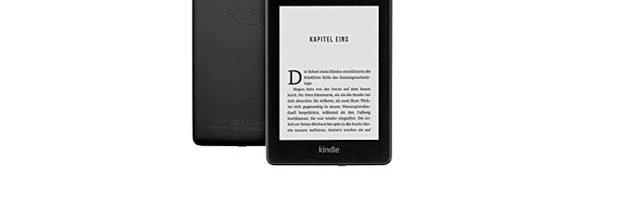 Frühjahrsangebot Kindle Paperwhite für 79,99 Euro (40 Euro günstiger)
