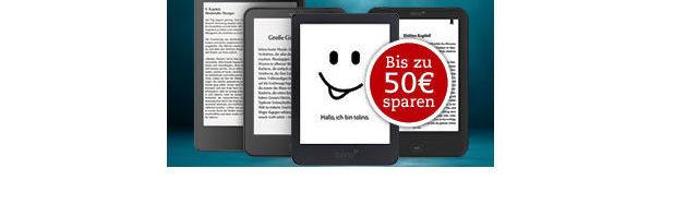 tolino Black Friday bei Thalia: bis zu 50 Euro günstiger