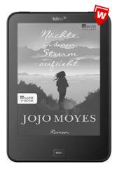 """tolino vision 4HD Bundle mit Jojo Moyes eBook """"Nächte, in denen Sturm aufzieht"""""""