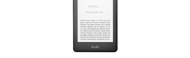 Neuer Kindle mit Beleuchtung