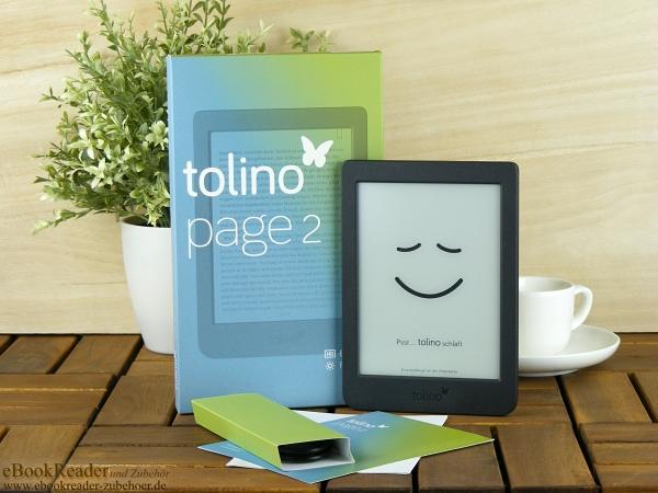 tolino page 2 - günstiger Einstiegs-Reader jetzt auch mit Beleuchtung
